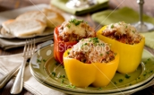 Beefalo Stuffed Peppers